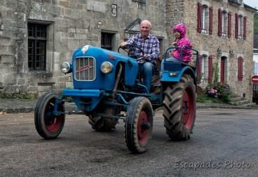 Tracteur Eicher Tigre - Pont-Scorff