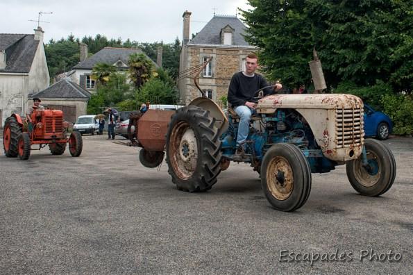 Tracteur dans son jus - Pont-Scorff