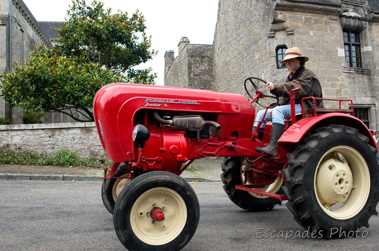 Vieux tracteurs Pont-Scorff :  Transport vers les sixties