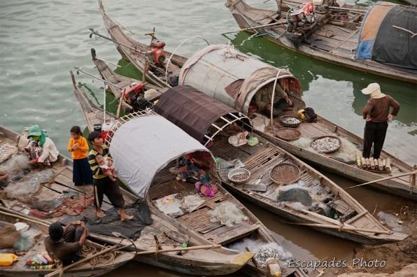 Pêcheurs du Mékong