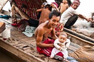 Portraits : Les pêcheurs du Mékong