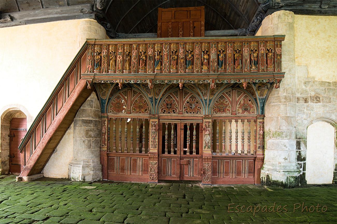 Jubé de la chapelle Saint-Nicolas
