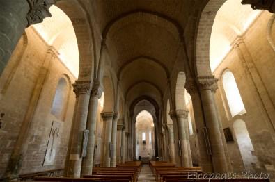 église saint-pierre saintonge - la nef