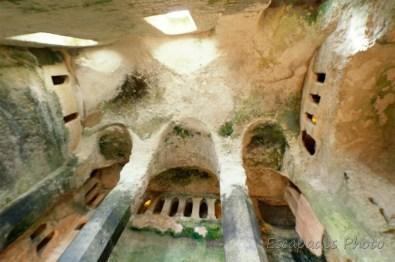 église monolithe - aubeterre-sur-dronne - arcades