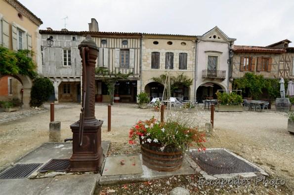 Labastide d'Armagnac en terre landaise