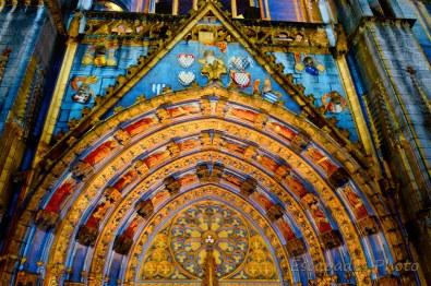 Saint-Corentin - Quimper - Scénographie : Porche sublimé