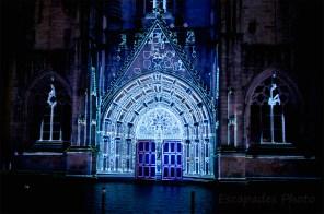 Saint-Corentin - imagerie sur pierre de cathédrale