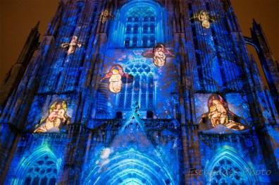 Scénographie anges musiciens - Saint-Corentin - Quimper