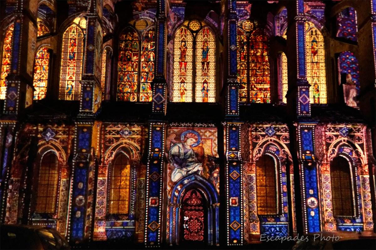 Scenographie - Saint-Pierre Chartres - vitraux