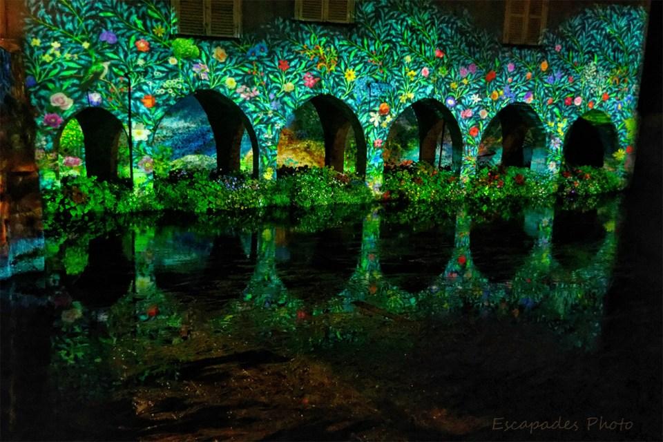 Scénographie - Pont Saint-Hilaire - arcades