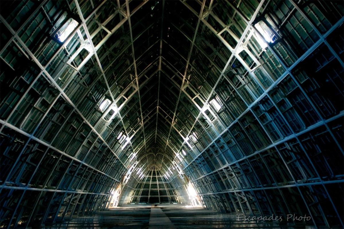Charpente de la cathédrale de Chartres : La structure est lumineuse