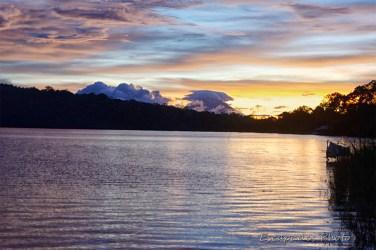 Aurore - lac Bratan - Bedugul