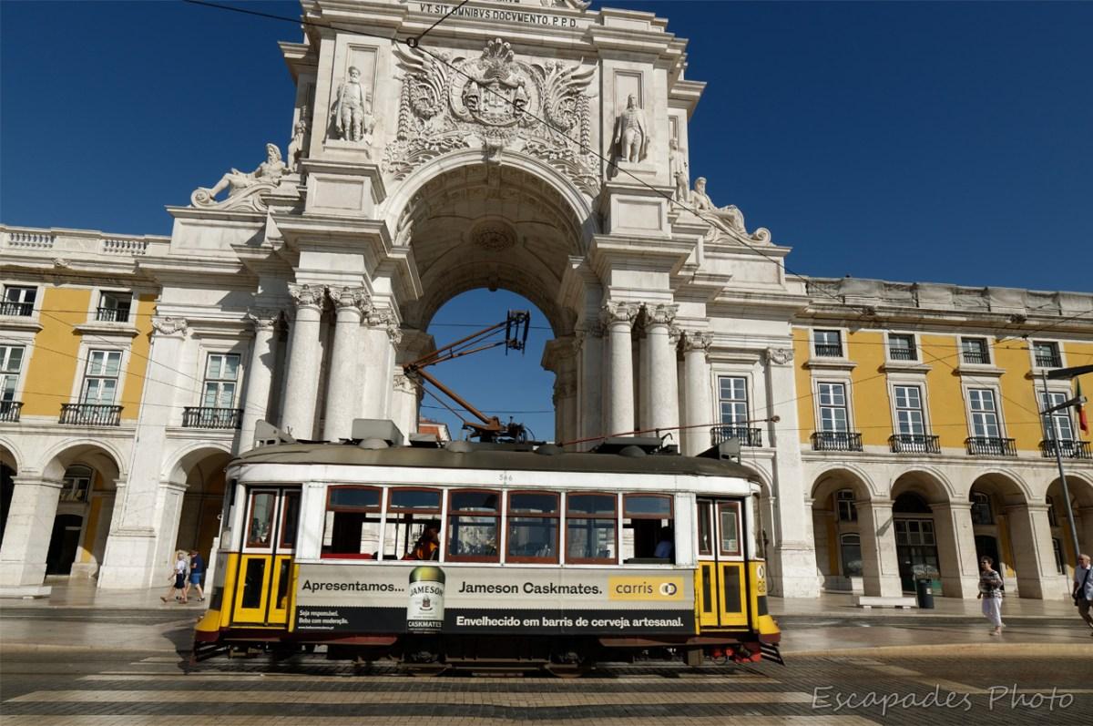 Praça do Comércio - tramway