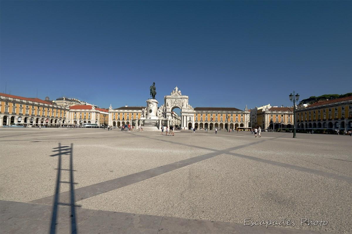 Praça do Comércio - Lisbonne