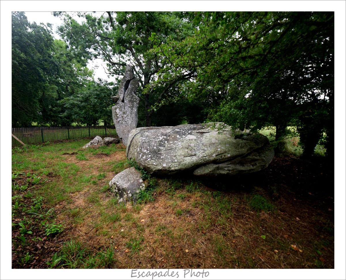 Table de sacrifice - Menhir brisé : Les Géants de Kerzerho