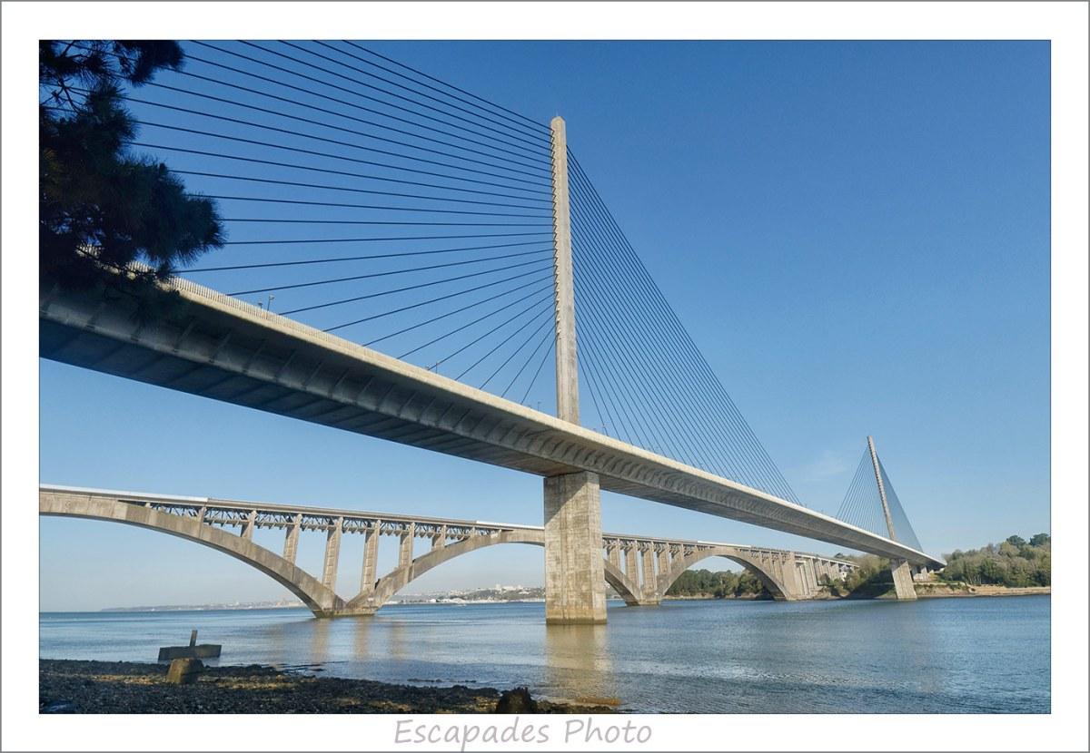 Ponts Albert Louppe et de l'Iroise