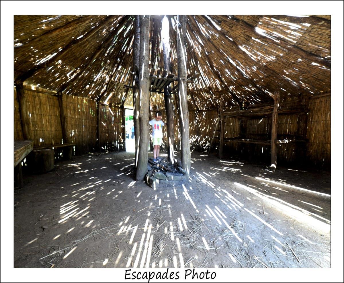 Coat-Loc'h : La hutte su sabotier
