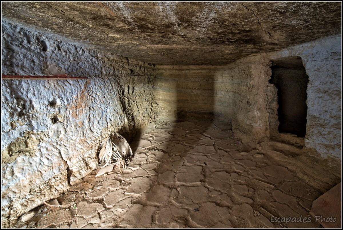 Maison troglodyte - le cellier