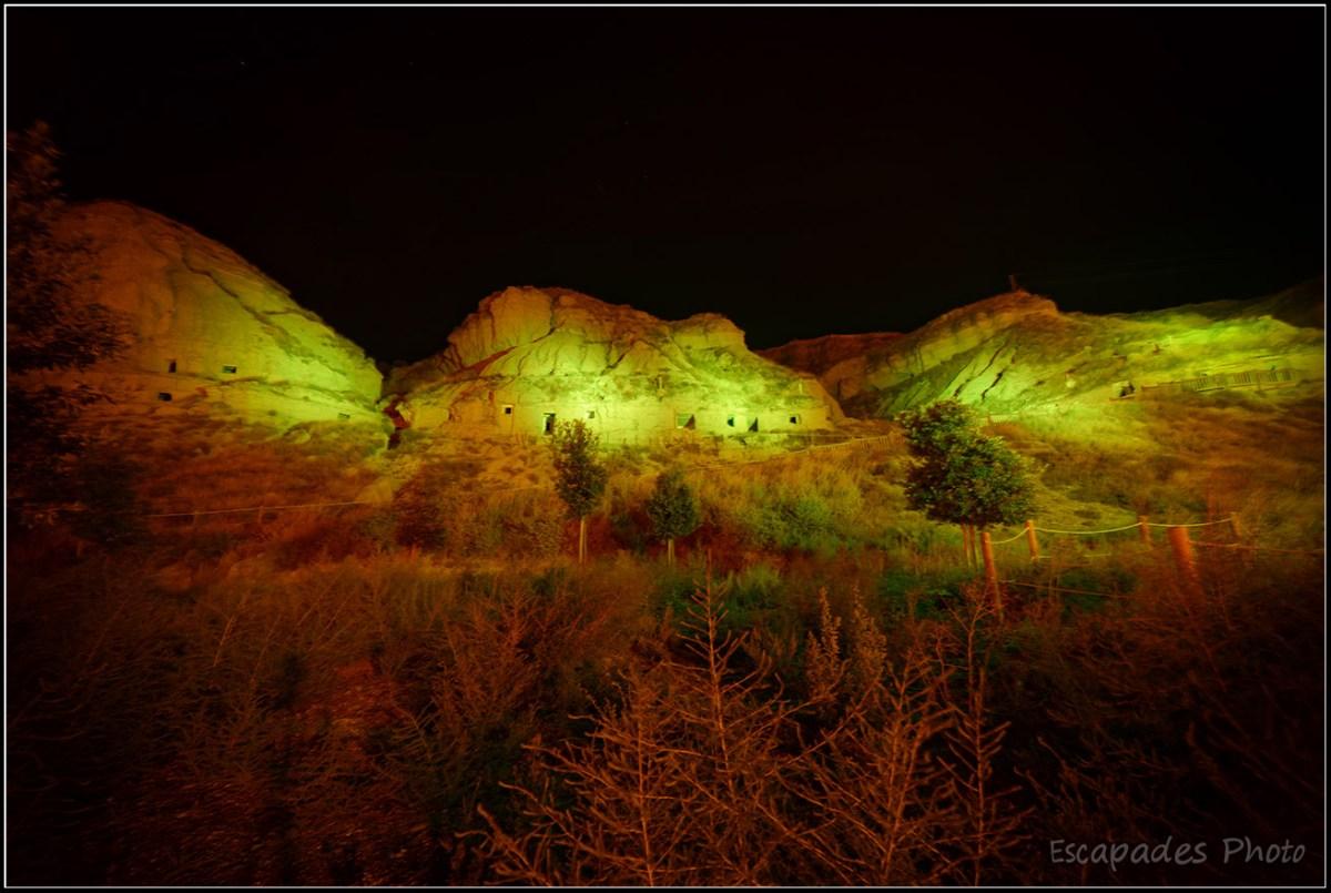 Arguedas troglodytique : illuminations