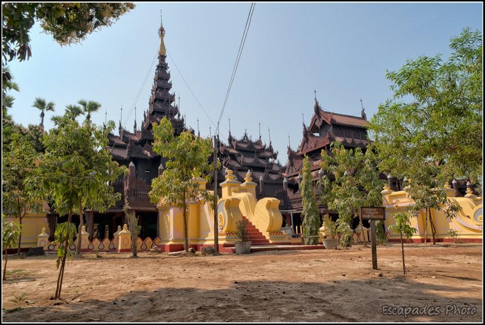 Shwenandaw Kyaung - vue d'ensemble