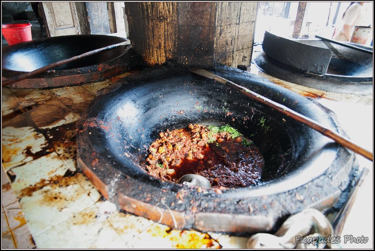 Amarapura Mahagandayon - viande et épices