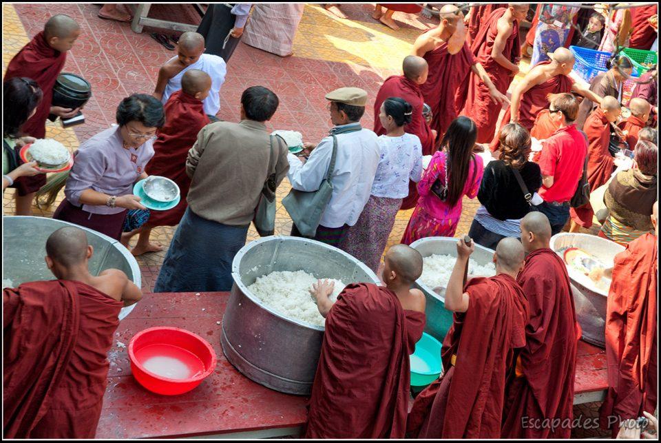 Mahagandayon - chaudrons de riz