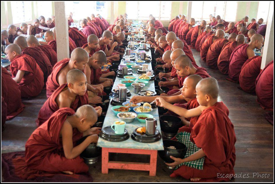 Silence et discipline à Mahagandayon