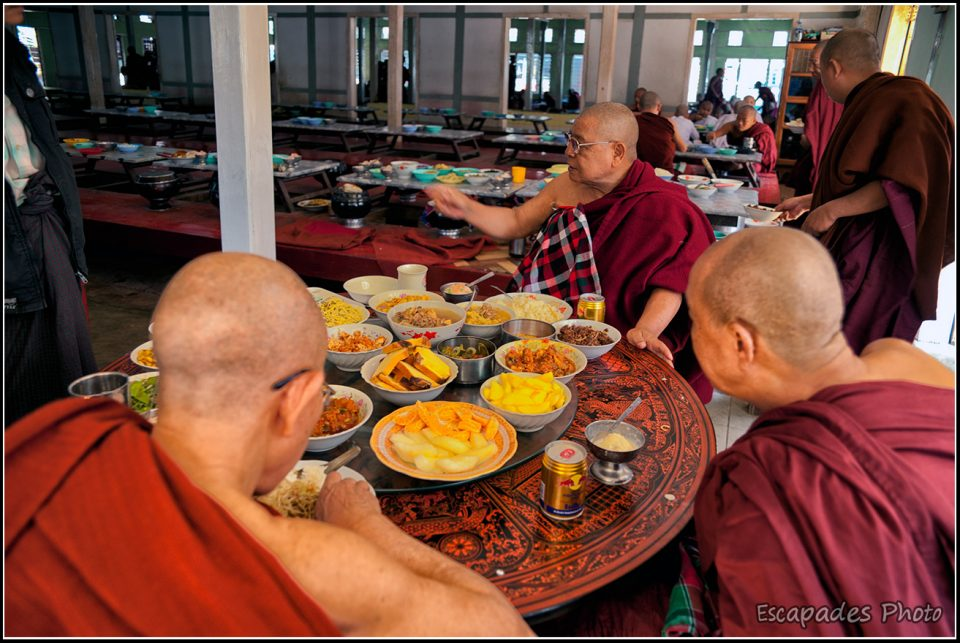 Mahagandayon - table des maîtres bouddhistes