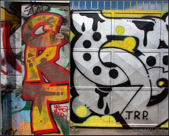 Canal de l'Ourcq, le parcours Street Art