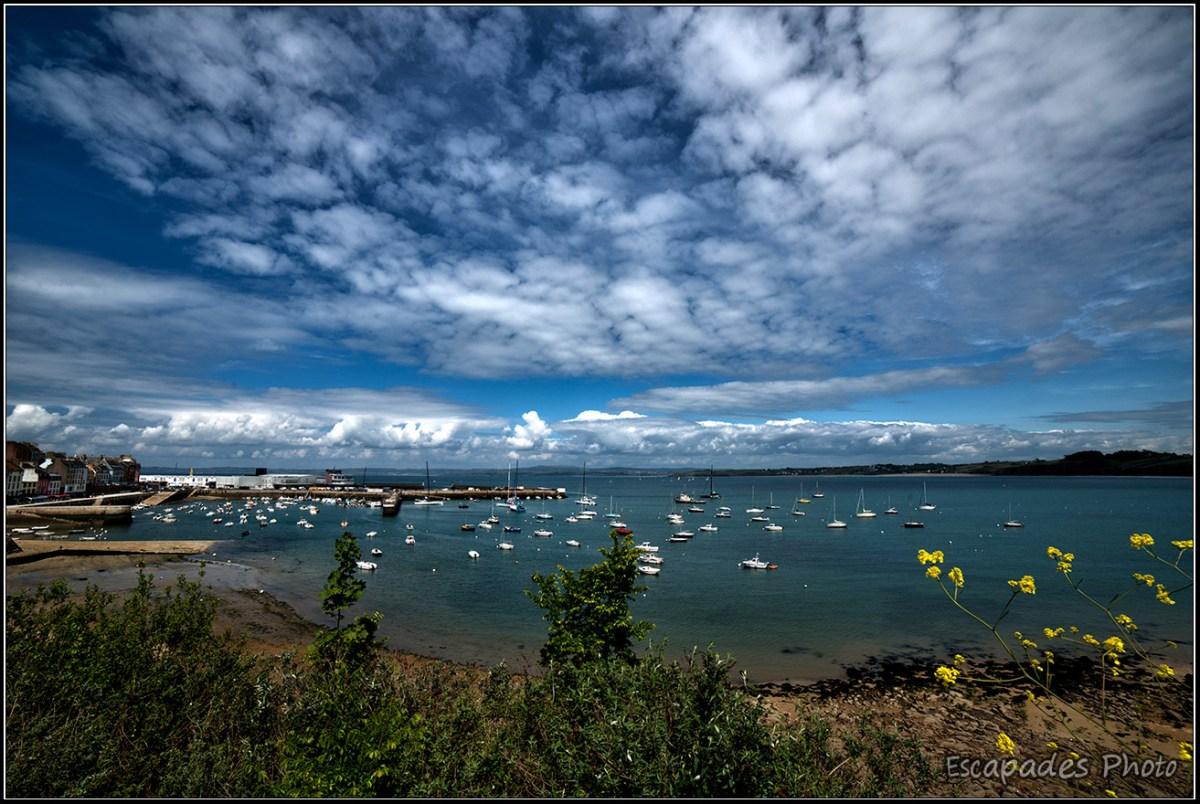 Douarnenez au mois de mai : Vue sur la baie