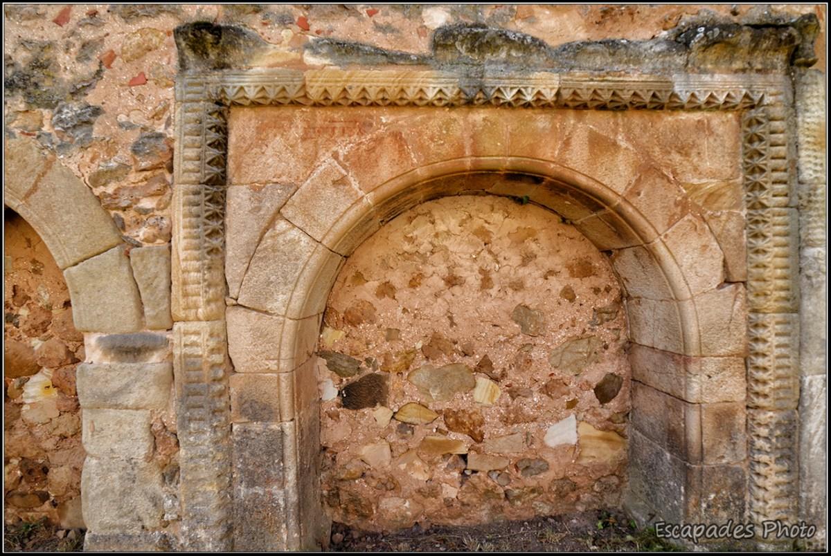 San Juan de Duero - arcature aveugle