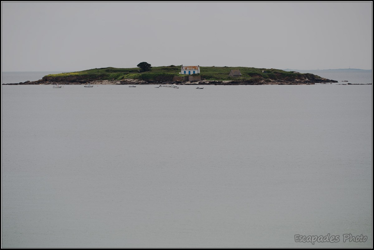 Ile de Raguenez - les vues du GR34