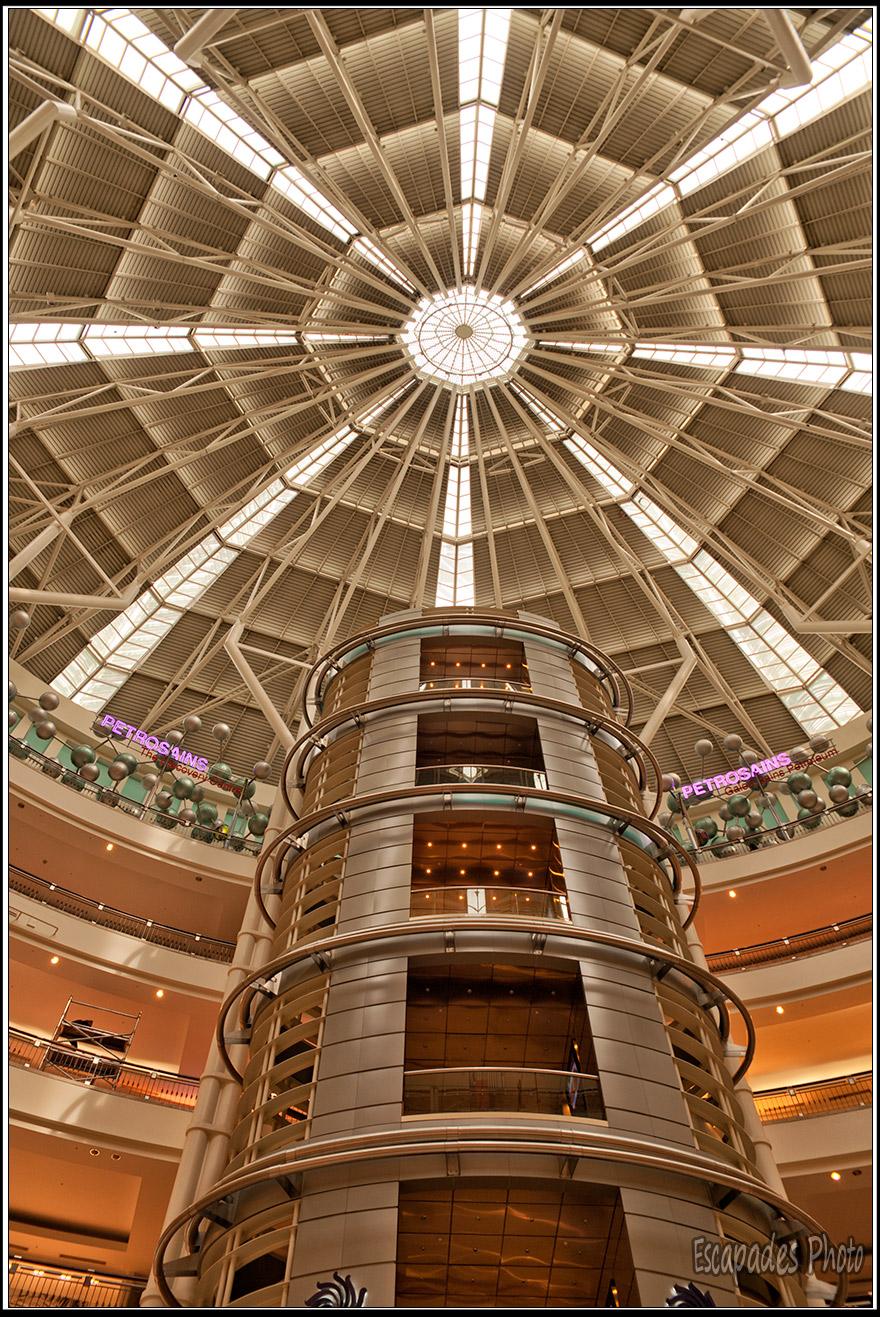 Cage d'ascenseur toursPetronas