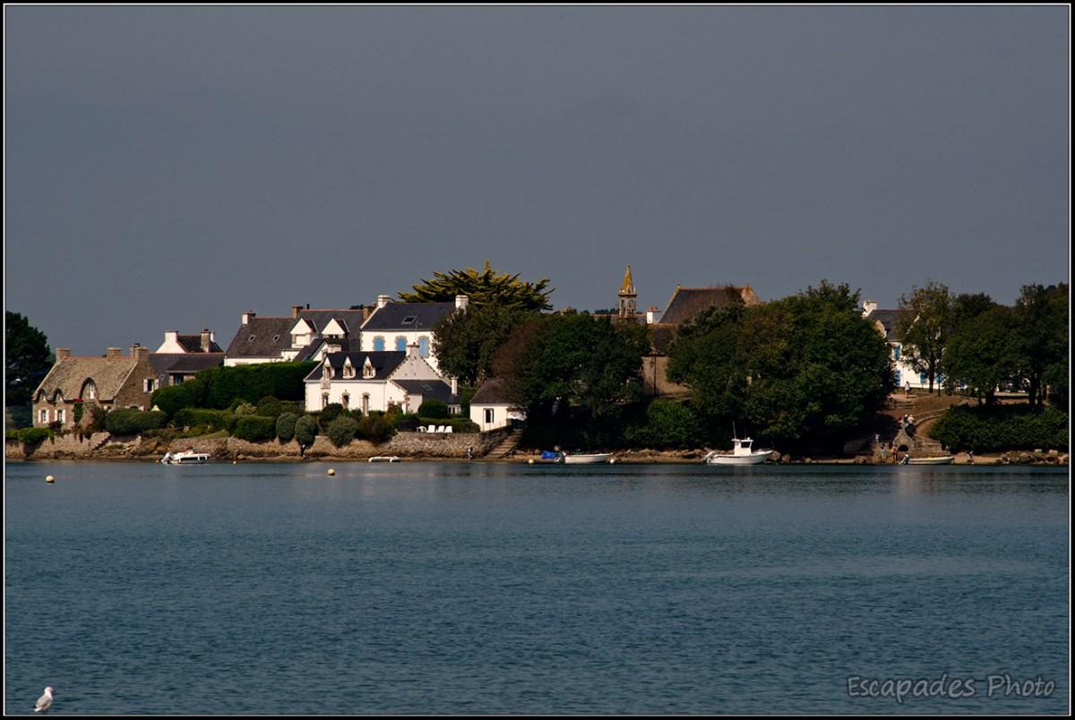 îlot de Saint-Cado : Vue côté Est