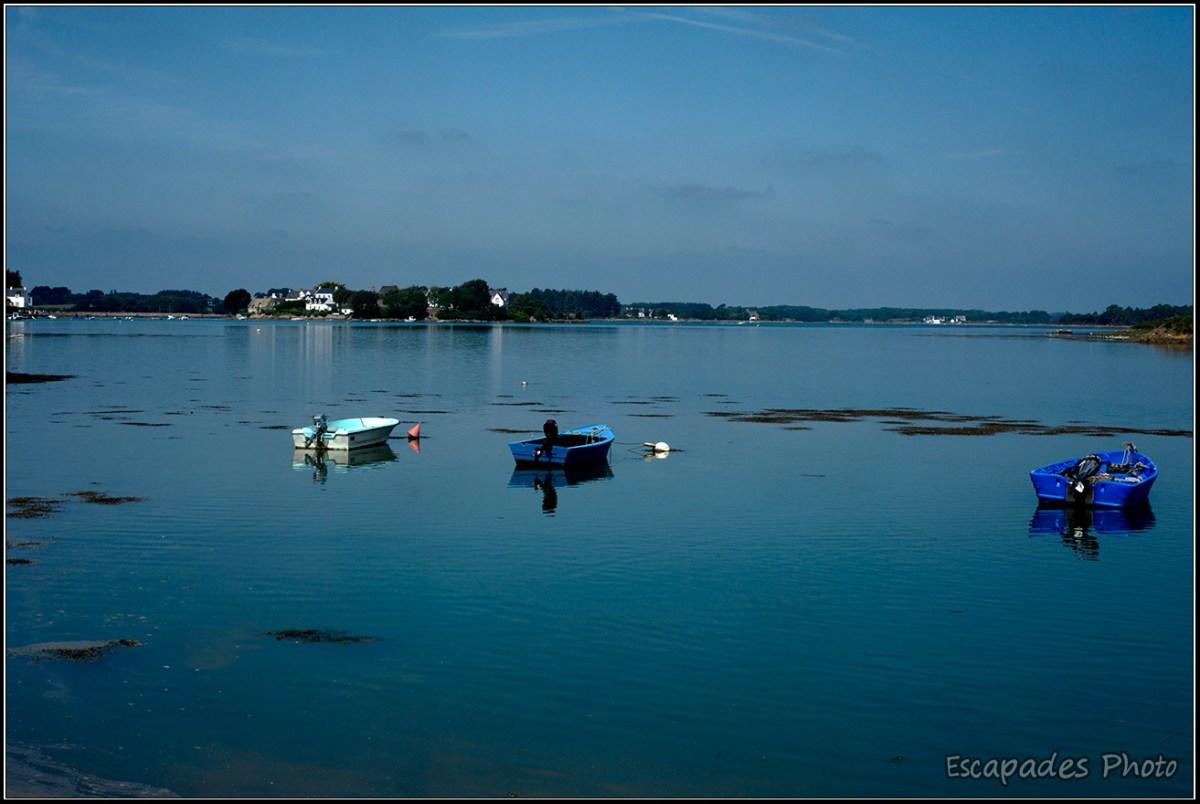 Petite mer intérieure à Saint-Cado