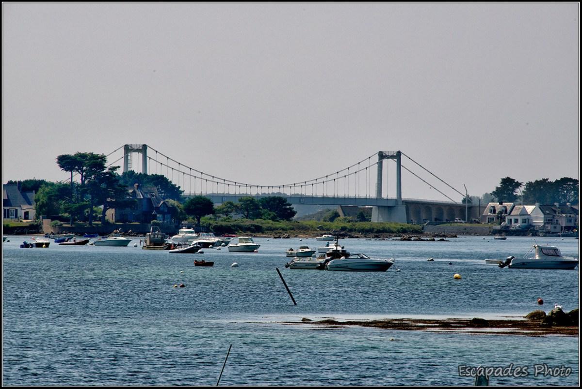 Le Pont Lorois vu depuis l'îlot