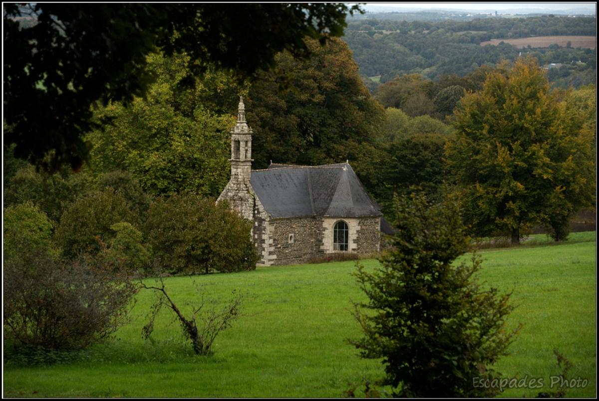Chapelle Saint-Hubert du domaine de Trévarez
