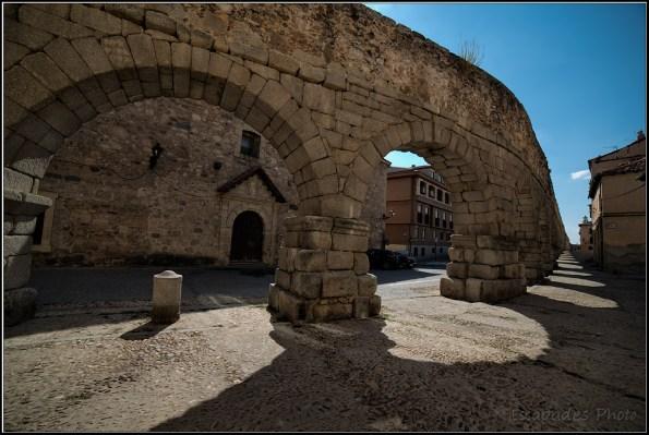 L'aqueduc romain de Ségovie et de belles découvertes