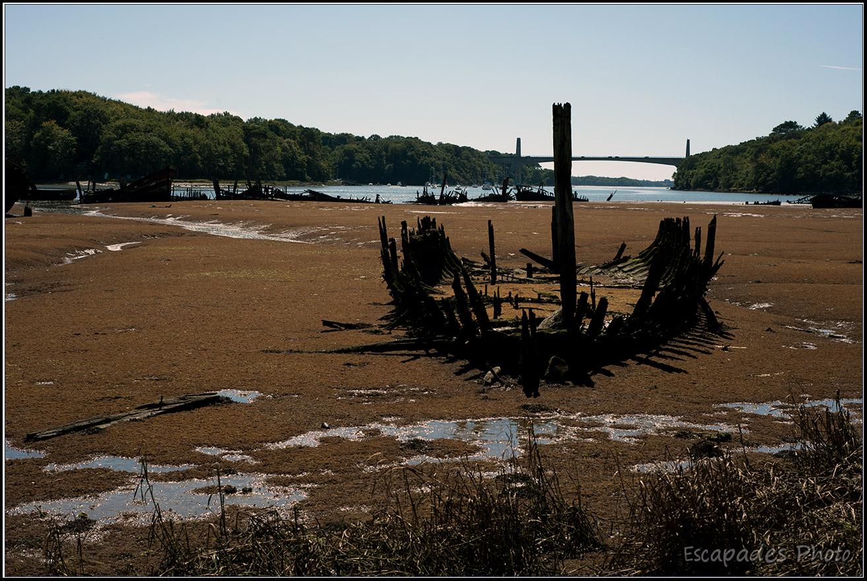 Cimetière de bateaux  Kerhervy Lanester