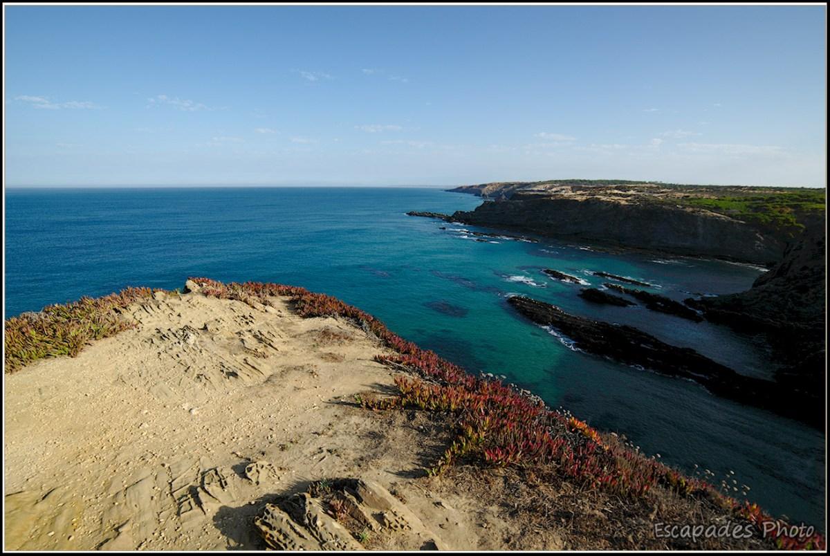 Cabo Sardão les falaises