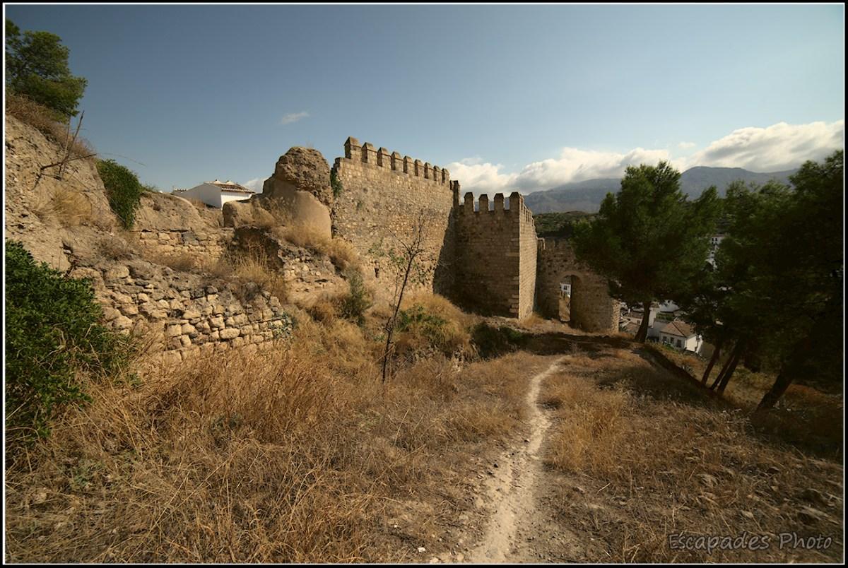 Alcazaba les murailles
