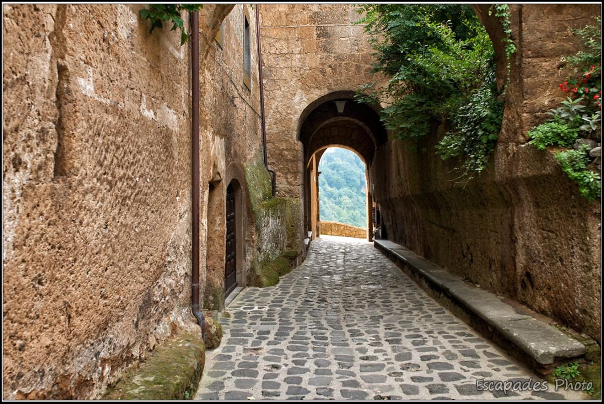 Porte d'accès de Civité di Bagnoregio