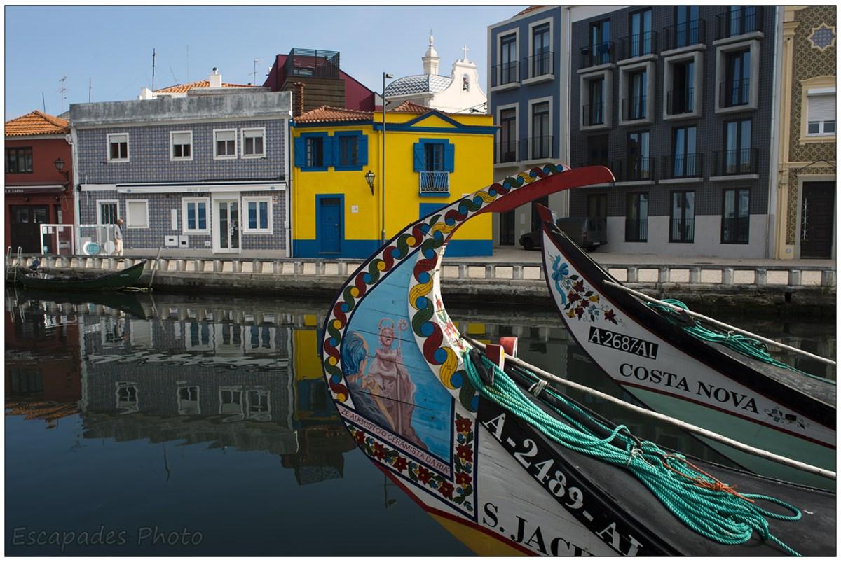 Le moliceiros d'Aveiro sont riches en couleurs