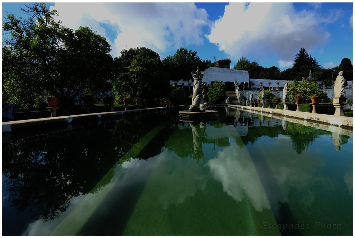 Un bassin au palais épiscopal de Castello Branco