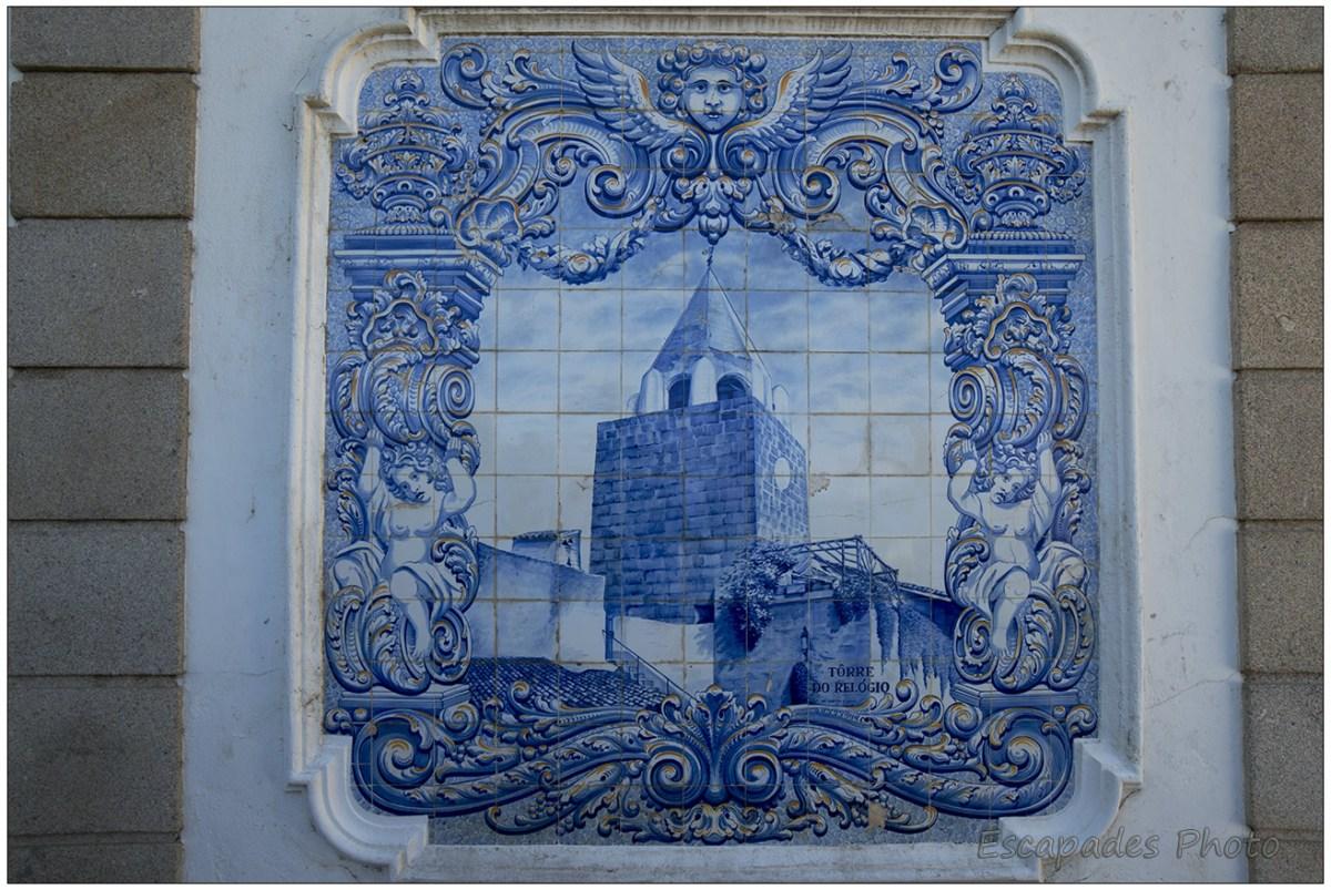 Castelo Branco - Torre do Relógio ou tour de l'horloge