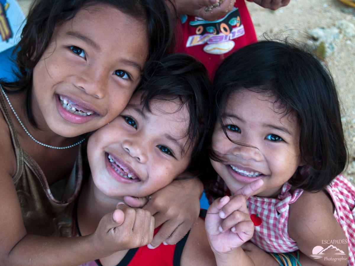 Portraits d'enfants à El Nido