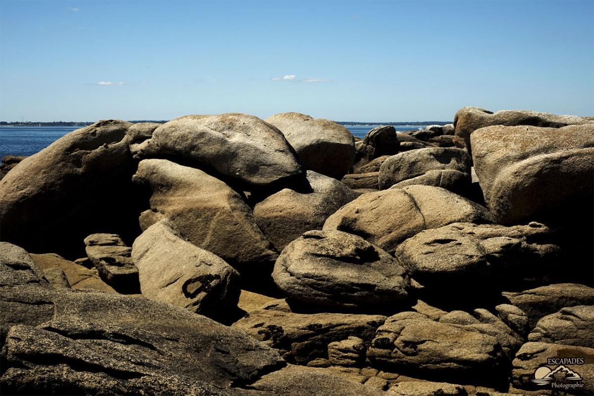 Les rochers de la pointe de la Jument