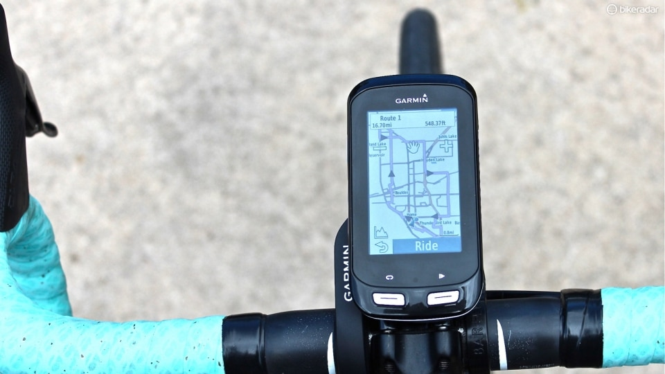 This year's most wanted technology: the garmin edge 1000: