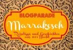 Blogparade Marrakesch