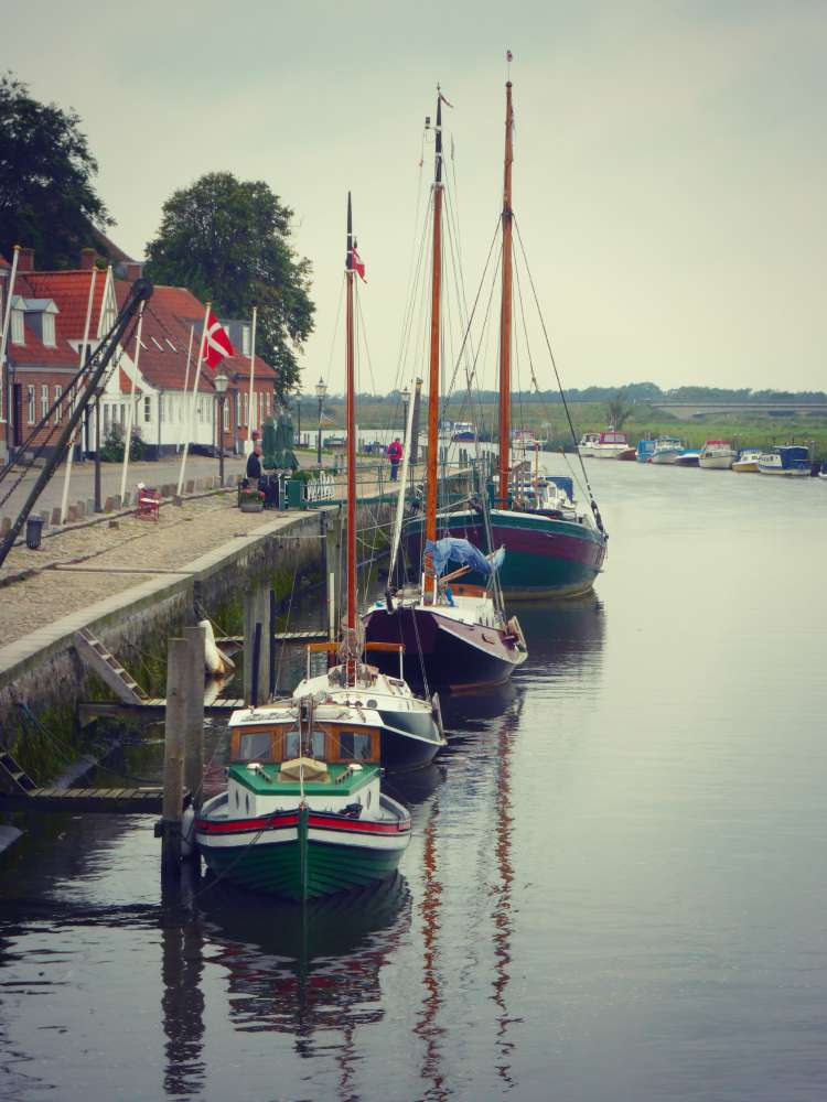 Alter Hafen in Ribe